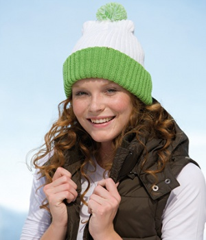 Čepice Myrtle Beach Knitted Cap with pompon
